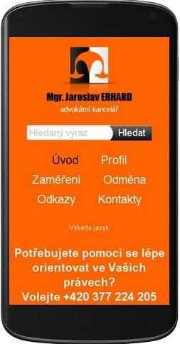 Advokátní kancelář Mgr. Jaroslav Erhard