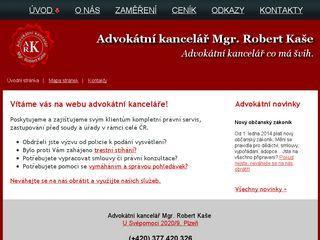 Advokátní kancelář Mgr. Robert Kaše