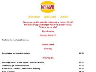 Gepard Burger