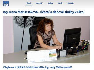 Účetní kancelář Ing. Irena Matiscsáková